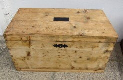 Victorian Pine  Box or Trunk