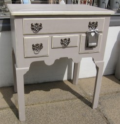 Painted Compact Hall Table