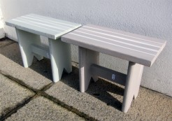 Small Wooden Painted Stools