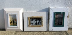 Reclaimed Wood Small Picture Frames