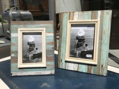 Driftwood Style Freestanding Photo Frames