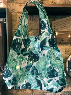 Botanical Design Shopper Reuseable Bag