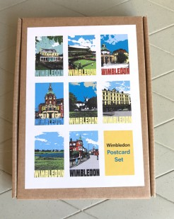 Wimbledon Postcards Boxed Set