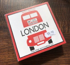 London Bus Box of Long Matches