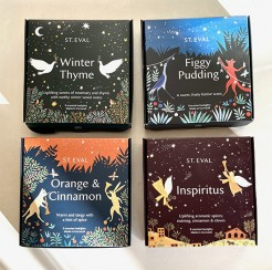 St Eval Christmas Scented Tealight Packs