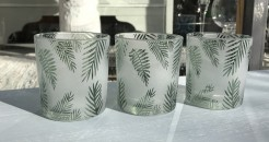 Fern Tealight Holders