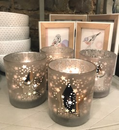 Large Star Candle Holders