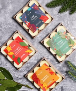 St Eval Xmas Scented Tealight Packs
