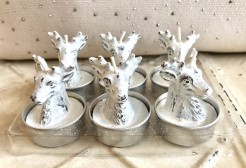 Boxed sets of Winter Themed Candles