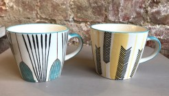 Mugs Tulip and Arrow Designs