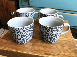 Patterned Stackable Mugs