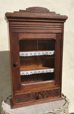 Petite 1930s French Cabinet