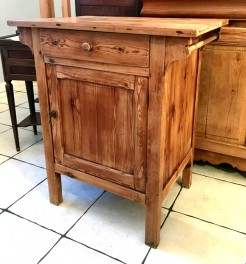 Antique French Pine Small Washstand