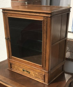 French Antique Pine Cabinet