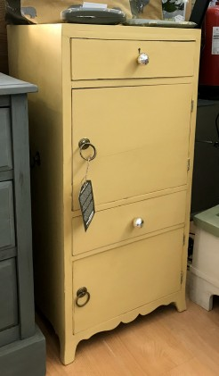 Painted Georgian Tallboy