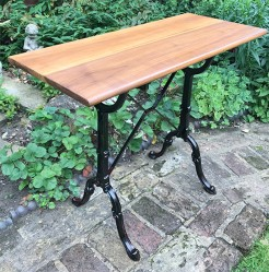Upcycled Antique Cast Iron French Table Base