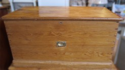 Quality Victorian Pine Box Chest
