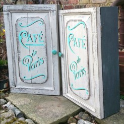 Painted Wall Cupboards