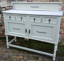 Painted Oak Sideboard 1930s