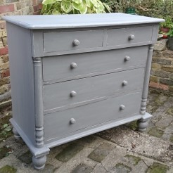 Hurricane Grey Chest of Drawers