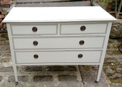 4 Drawer Painted Antique Chest of Drawers