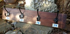 Strasbourg Coat Racks with Numbers