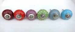 Colourful Ceramic Knobs