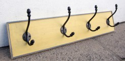 Dijon Mustard 4 Hook Coatrack