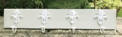 Earl Grey Coatrack with 4 French Style Hooks