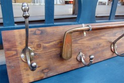 Golf Club Hook Board