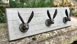 Triple Hare Hook Board