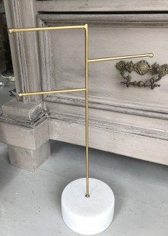Marble Base Jewellery Stand