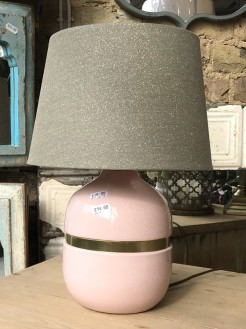 Blush Pink Lamp base
