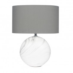 Ceramic Marble Effect Lamps