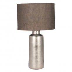 Metallic Gold Lamp With Shade