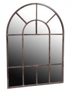 Arch Top Metal Mirror