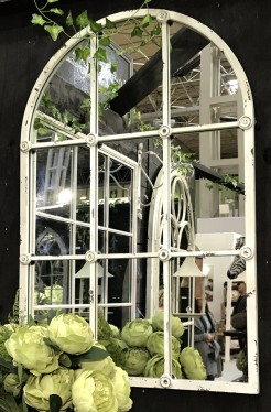 Arch Top Indoor Outdoor Metal Mirror