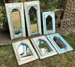 Indian Wooden Mirrors