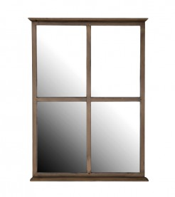 Four Pane Poitier Mirror