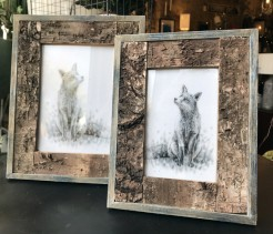 Bark Design Photo Frames