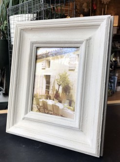 Grey Wood Photo Frame