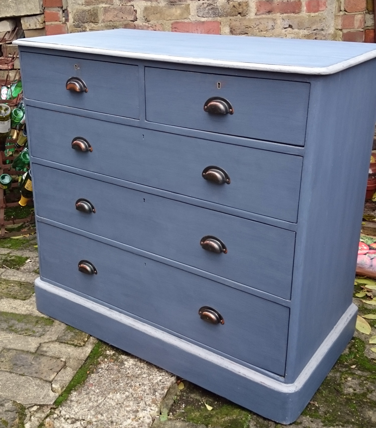 navy chestnut ways chest dresser with rustic drawers of top stain english stained entri tall blue