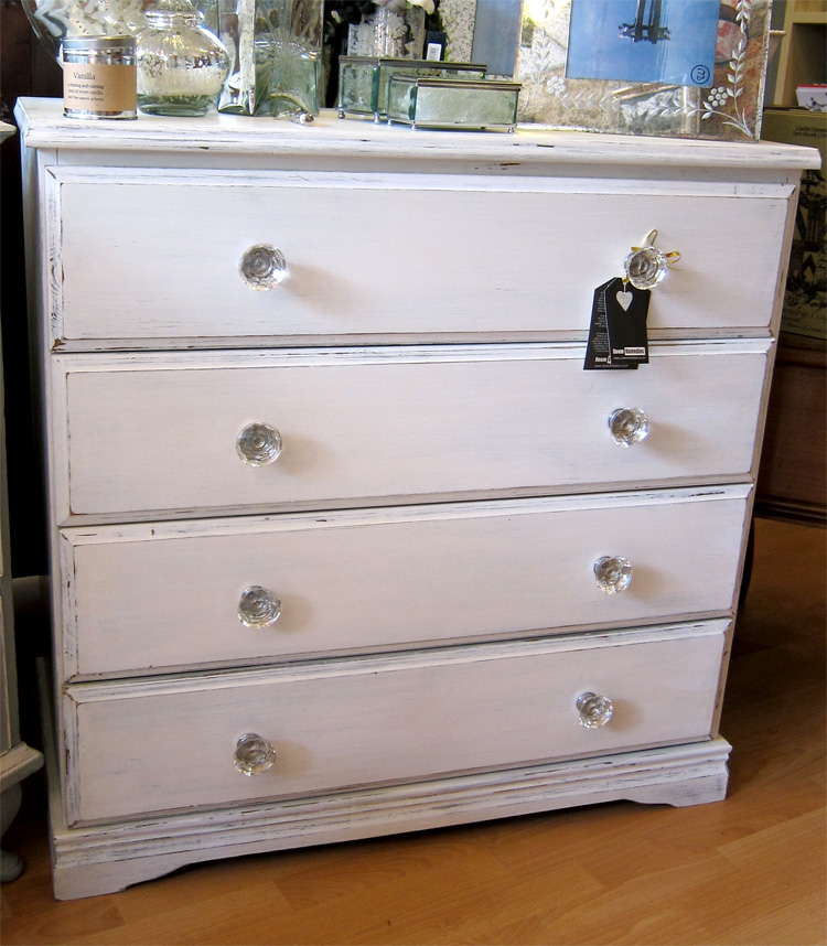 Home Furniture Sold Furniture White Painted Pine Chest Of Drawers