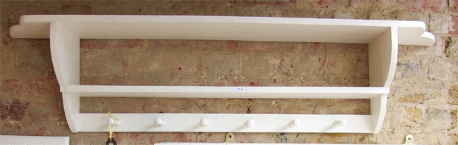 Double Shelf Peg Rail Board